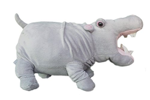 Adore 12' Standing Biggie The Hippo Hippopotamus Stuffed Animal Plush Toy