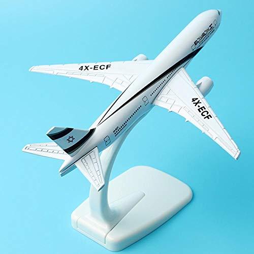 LYXin 16cm Boeing 777 Vliegtuigen Model A320 Duitse Lufthansa A380 Vliegtuig Israel Airway Model 1:40