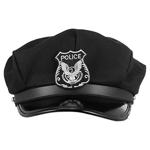 PRETYZOOM Sombrero del almirante octagonal marineros sombrero capitanes partido cosplay accesorios