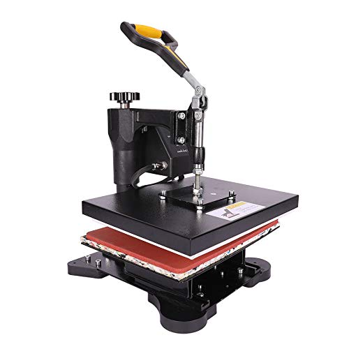 Z ZELUS 600W Hitzepresse Heat Press 30x23cm Heißpresse Transferpresse Mulitifunktional für T-Shirts Transferpresse Textildruck