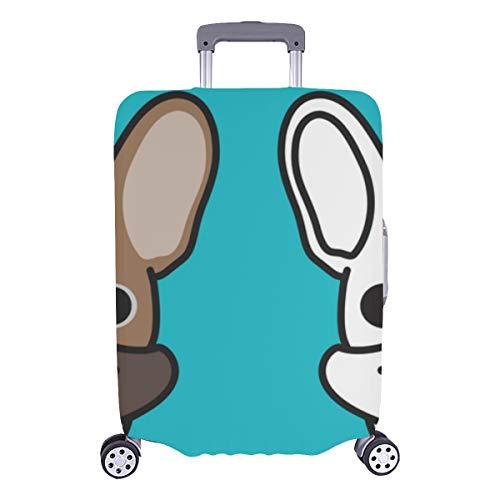 Suitcase Cover Protector Large Puppy Dog Sweet Pet Fashion Decor Durable Washable Protecor Cover Fits 28.5 X 20.5 Inch Large Luggage Cover Cover Luggage Protector Womens Luggage Cover