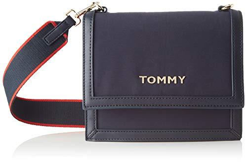 Tommy Hilfiger Damen Tommy Seasonal Crossover Umhängetasche, Blau (Corporate), 1x1x1 cm