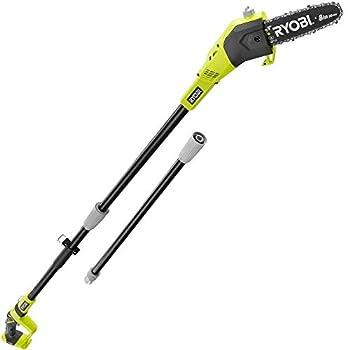 Ryobi ZRP4360 8 in 18V Cordless Pole Saw  bare tool   Renewed