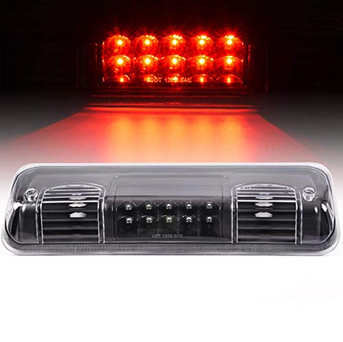 LED 3rd Third Brake Cargo Lights Compatible For Ford F-150 Lobo 2004-2008 /Compatible For Ford Explorer Sport Trac 2007-2010 /Compatible for Lincoln Mark LT 2006-2008 Rear Cab Roof Lamps