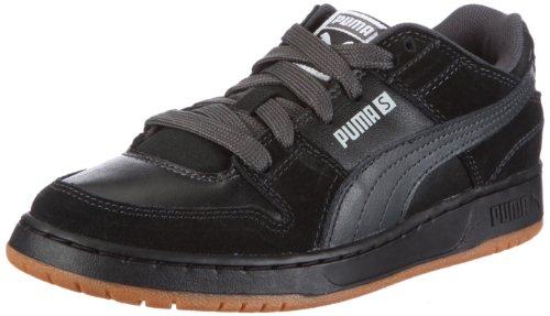 PUMA Unisex-Kinder Grifter S Jr Sneaker, Schwarz/Black-Dark Shadow-Gray Violet, 30 EU