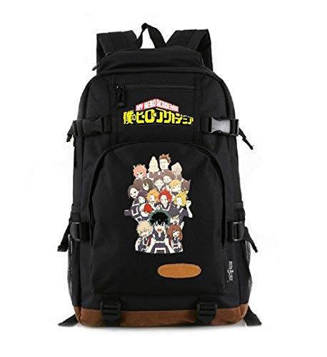 Siawasey Anime My Hero Academia Cosplay Backpack Daypack Bookbag Laptop School Bag Shoulder Bag