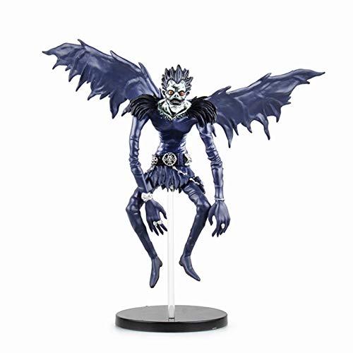 Anime Figur, Death Note Figur Ryuk Ryuuku Action Figur, PVC Garage Kit Anime Charakter Modell Statue Spielzeug, Tischdekoration Dekorationszubehör, Sammlerstück für Kinder Jungen Mädchen
