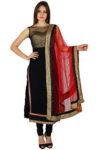 Atasi Frauen Net Gerade Kurti Salwaar Kameez Mit Dupatta Custom Clothing Indische Hochzeitskleid