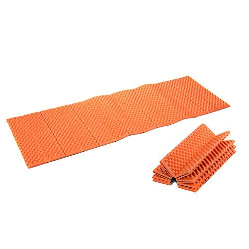 Avalita Matelas gonflable ultraléger, pour camping, randonnée, tapis de couchage résistant à la corrosion (Orange)