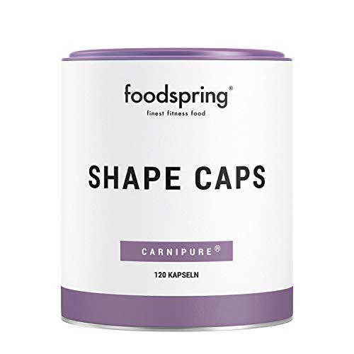 foodspring Shape Caps, 120 capsule, Un alleato intelligente per il tuo allenamento dimagrante