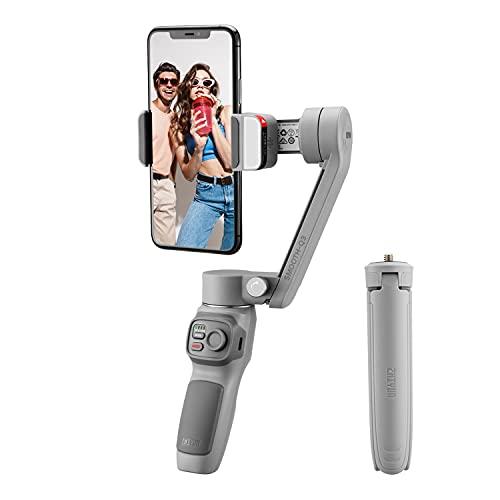 zhi yun ZHIYUN Smooth Q3 Pieghevole Stabilizzatore Gimbal 3 Assi per Smartphone (iPhone/Android) Fino a 280g