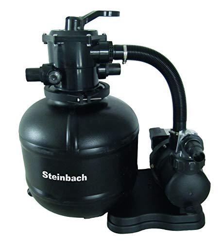 Steinbach Filteranlage Classic 400, Umwälzleistung: 6,6m³/h, 230 V/450 W, 7-Wege-Ventil, Anschluss Ø 32/38 mm, 040340
