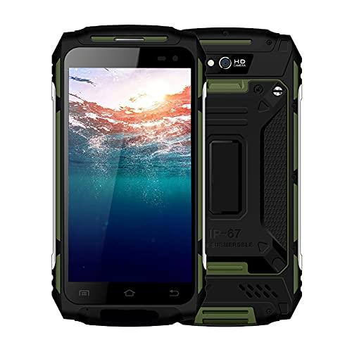 Gaeirt Teléfono Móvil 4G, 2GB + 16GB 3 Proofing Smart Phone Teléfono Inteligente para Exteriores Gran Capacidad De Batería para WiFi Messaging Calendar Calculator Clock Etc(Normativa Europea)