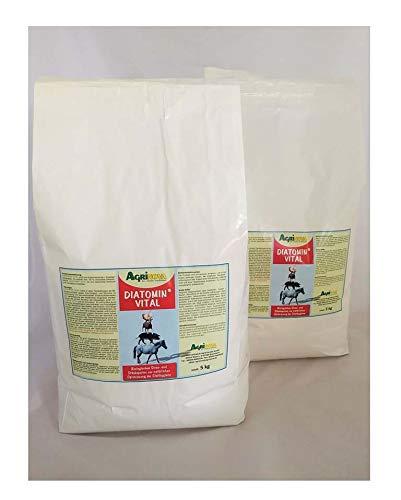 Agrinova DIATOMIN Vital 10 kg - Amorphe hochreine Qualitäts-Kieselgur zur Verbesserung des Stallklimas. Vielseitige und kostengünstige Anwendungsmöglichkeiten.