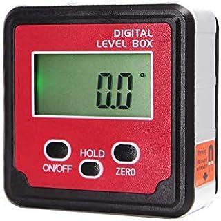 WTTilt1 Hög precision mini digital gradskiva lutningsvinkelsökare, geringsmätare nivå bakljus avfasningsbox (senaste MEMS ...