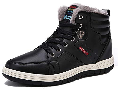 SINOES Zapatillas Botas Profesionales de Cuero para Hombres Especialmente diseñados para Senderismo Trekking montaña Deportes al Aire Libre A Prueba de Golpes, Transpirables y Antideslizante