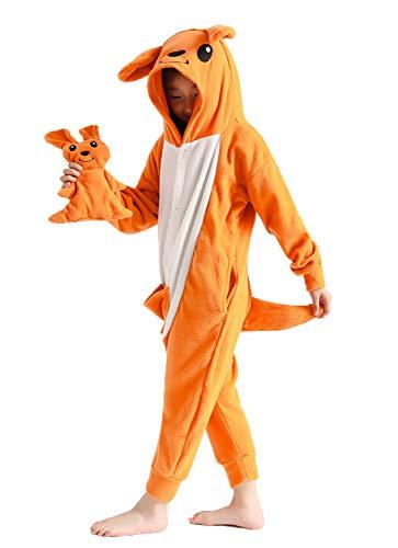 Child Cosplay Costumes Pajamas for Kids Kangaroo Onesie Gifts 6-8 Years