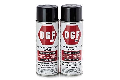 DGF - DRY GRAPHITE FILM Spray Anticorrosive Lubricant