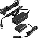 TOMSHEIR ACK-E6 DR-E6 Replacement AC Power Adapter LP-E6 Dummy Battery Coupler kit for Canon EOS 90D 80D 70D 60D 60Da, 5DS, 5DS R, 5D Mark II III IV, 6D, 6D Mark II, 7D, 7D Mark II, R R5 R6 Cameras