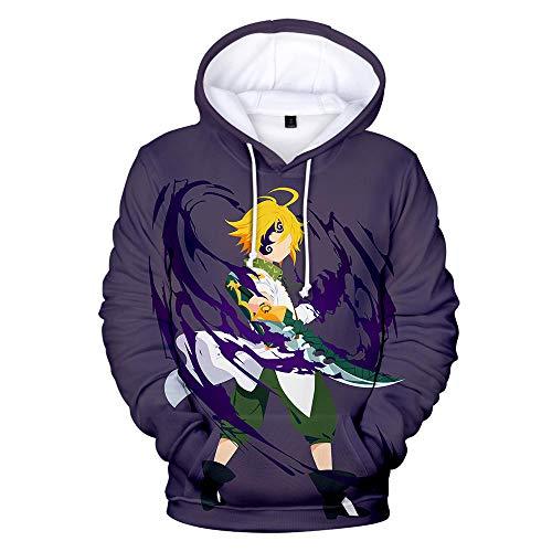 Zuzanny 3D opdruk hoodie unisex kerstbont sweatshirt voor koppels 3D hoodie sweatshirt grappig willekeurige trui