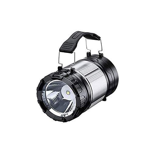 LKNJLL Handheld Spotlight Super Bright Portable Rechargeable LED Searchlight Lantern Flashlight Waterproof Spot Lamp for Hiking Camping Fishing