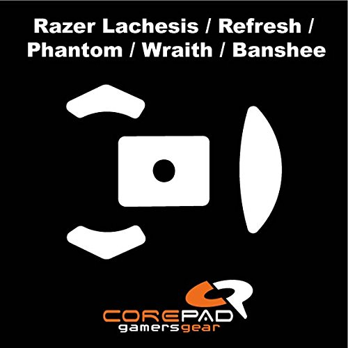 Corepad Mausfüße Skatez Pro 14 Razer Lachesis - Razer Lachesis Refresh - Razer Lachesis Phantom - Razer Lachesis Wraith - Razer Lachesis Banshee