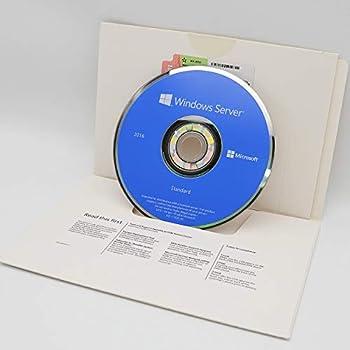 Windows Server 2016 Standard   16-Core   64-Bit   DVD   English