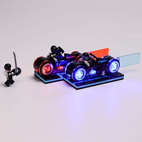 RTMX&kk Kit de luz LED para Ideas Tron Legacy Modelo de Bloques de Construcción, Juego de Luces USB Compatible con Lego 21314 (NO Incluido en el Modelo)