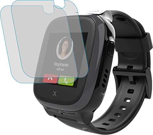 4ProTec I 2X Schutzfolie MATT passexakt für XPLORA X5 Play - Displayschutzfolie Schutzhülle