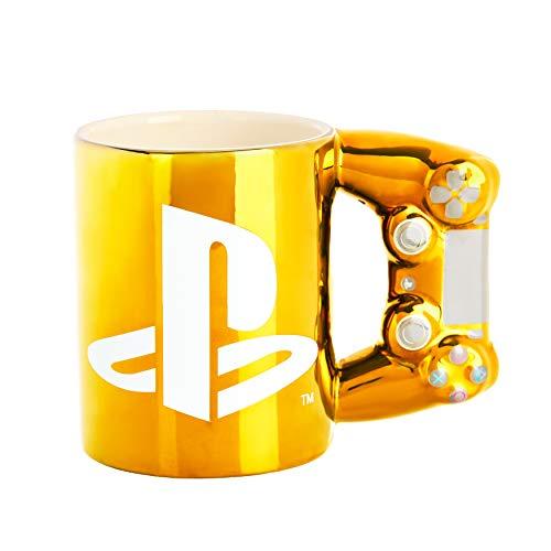 Playstation Dual Shock4 Controller Becher (Gold)