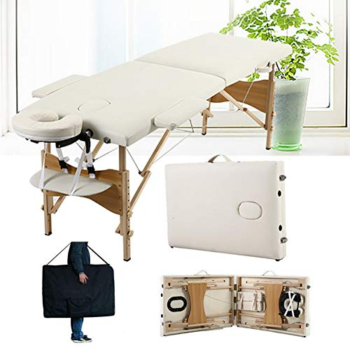 Folding Massage Table Couch Bed Professional Beauty Tattoo Spa Reiki...