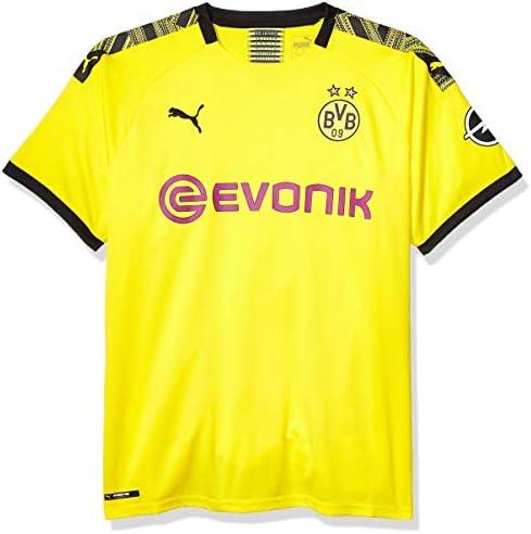 PUMA Camiseta para Hombre BVB Home, réplica con el Logotipo ...