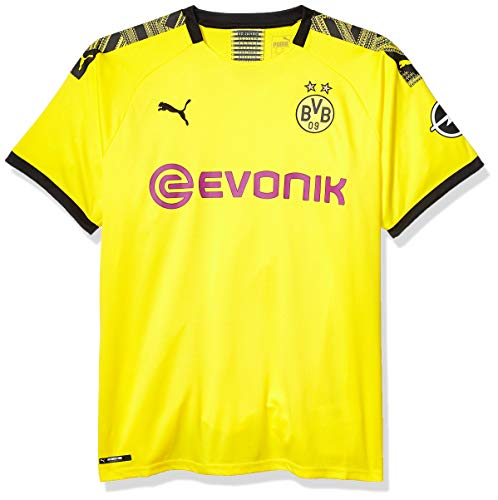 PUMA Youth Dortmund Soccer Jersey 2019-2020 X-Large, Cyber Yellow