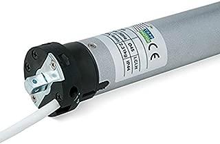 Blue Motor Line - Motor tubular MOT30SC para persiana enrollable, 30 NM, diámetro  45 cm, plata