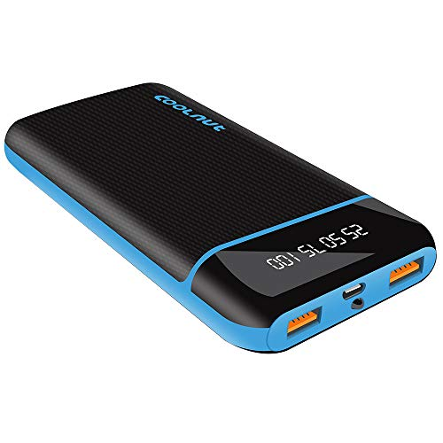 Coolnut 20000 mAh Power Bank | Quick Charge 3.0 | Fast Charging Power Bank with 18W for iPhone, Samsung, One...
