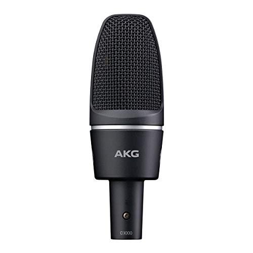 AKG C3000 Hochleistungs-Kondensatormikrofon mit großer Membran