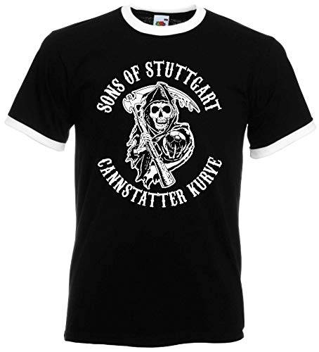 Sons of Stuttgart Cannstatter Kurve Herren Retro Ultras