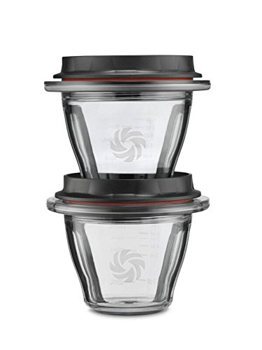 Vitamix Ascent Series Blending Bowls, 8 oz. with SELF-DETECT, Clear - 66192