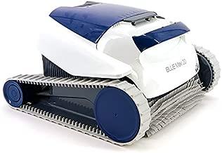 Dolphin BLUE Maxi 20 - Robot automático limpiafondos para piscinas (fondo y paredes) sistema de navegación preciso Clever clean