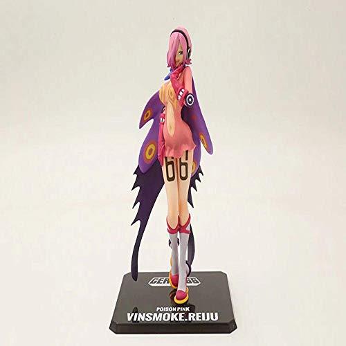EIN Stück Vinsmokefamilie Vinsmoke-Reiju-Giftpulver Animierte Charakter Modell Statue Dekoration Geschenk Kinderspielzeug - Die Beste Wahl