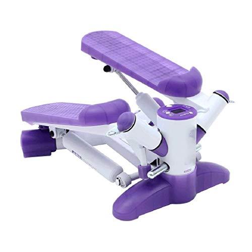 SMEJS Mini paso a paso, escalera de fitness, mini Stepper Fitness cardiovascular, altura ajustable con acción de torsión, equipo de ejercicios paso a paso (color: A)