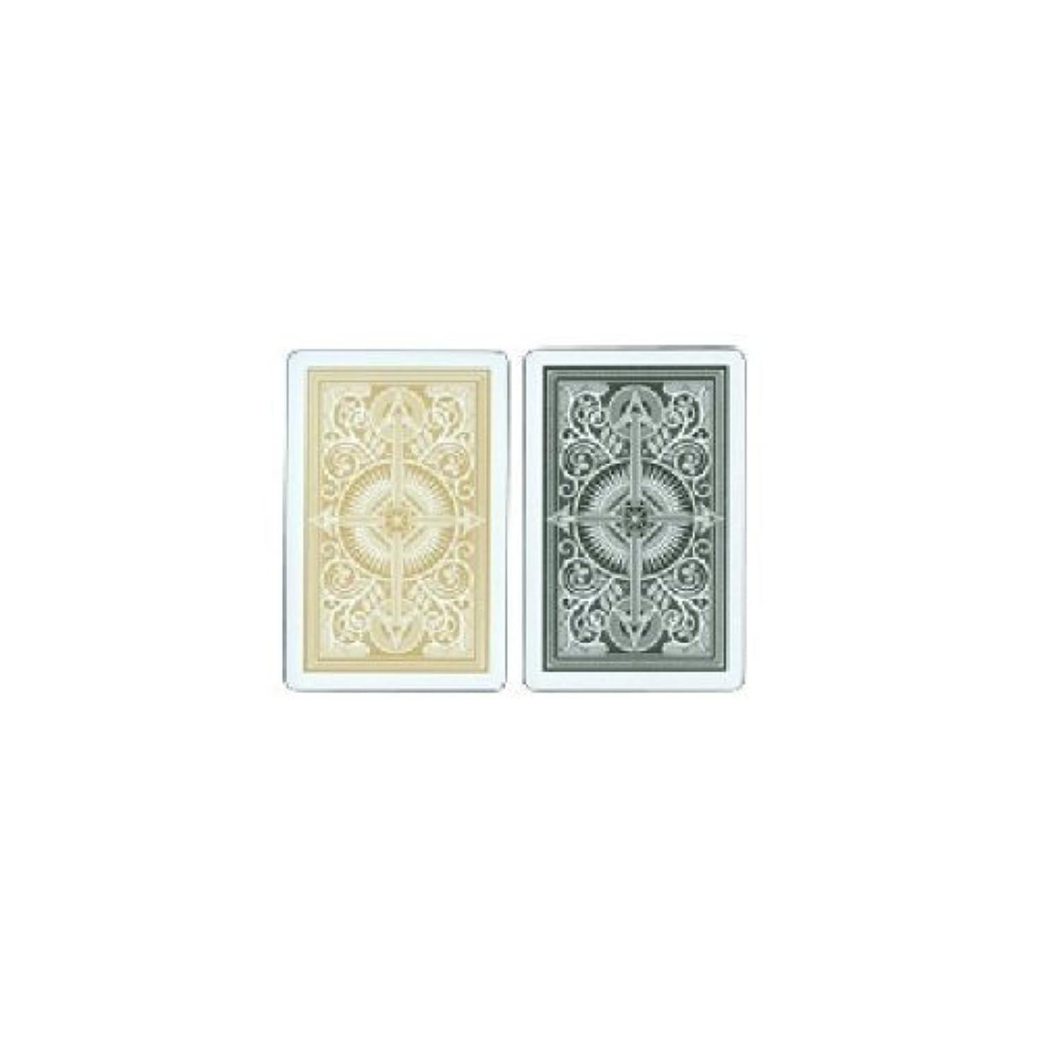 KEM Arrow 100% Plastic Playing Card 2 Deck Set - Choose!