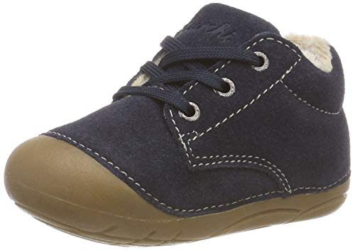 Lurchi Unisex Baby Flori Sneaker, Blau (Navy 22), 21 EU
