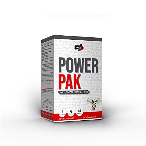 Power PAK Multivitamin Tabletten 20 40 60 Tage Täglich Komplexe AZ-Vitaminformel 16 Vitamine 12 Mineralien mit Zink 19 Aminosäuren 11 Antioxidantien 1000 mg Omega 3 Fischöl Mischung aus 20 Obstgemüsen