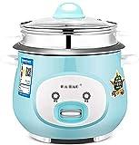 Cocina eléctrica Arrocera (2L-6L) Hogar Aislamiento térmico inteligente Cocina antiadherente multifuncional, pequeños...