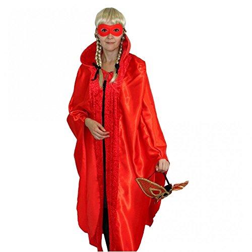 Krause & Sohn Mantello Rosso, Dimensioni dell'unità, Mascherina della Sfera di Costume Carnevale di Venezia Carnevale di Cape Coat