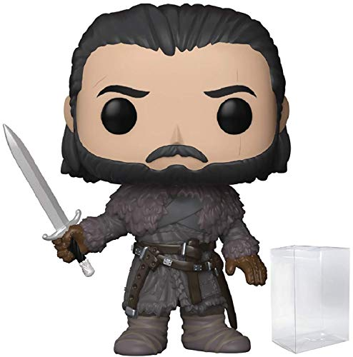 Game of Thrones: Jon Snow Beyond the Wall Funko Pop! Vinyl Figure (Includes Compatible Pop Box Protector Case)