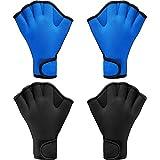 2 Pairs Swimming Gloves Aqua Fit Swim Training...