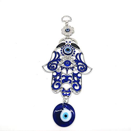 Alianuk blaues böses Auge zum Aufhängen, Dekoration, Wanddekoration, Hängedekoration, Auto-Anhänger, Amulett, Ornamente