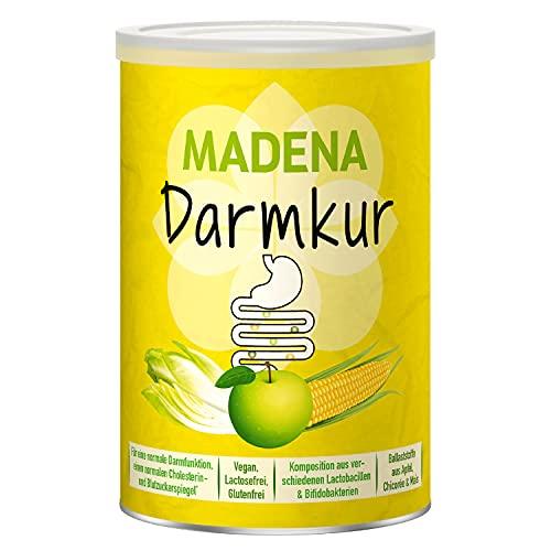 MADENA Darmkur, Inulin, Apfelpektin, resistente Stärke, Bifidobacterium breve, Bif. lactis,...